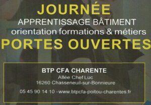 Portes ouvertes BTP CFA